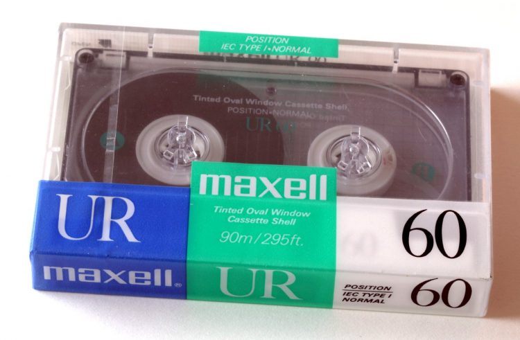 Vintage Maxell cassette tapes (6)