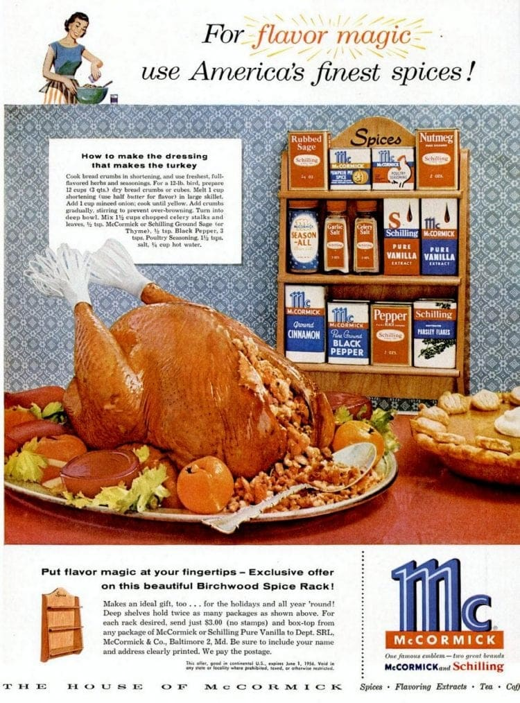 How to make the dressing that makes the turkey (1955)