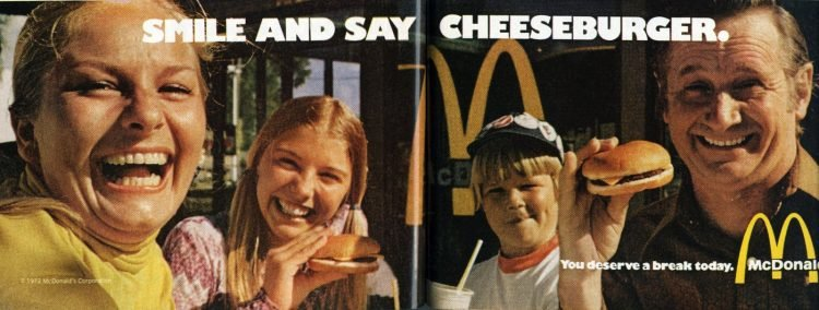 Vintage McDonalds ads from 1973 (1)