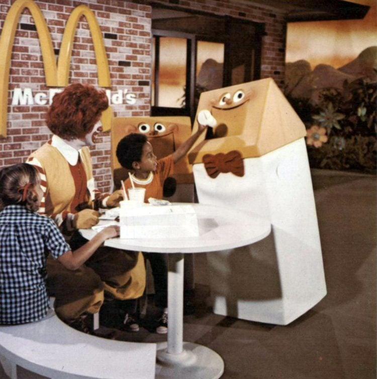 Vintage McDonald's fast food restaurant 1970s (2)