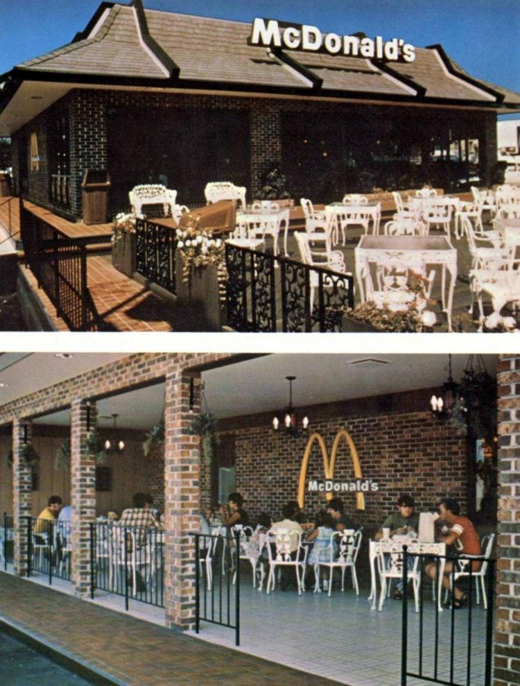 Vintage McDonald's fast food restaurant 1970s (8)