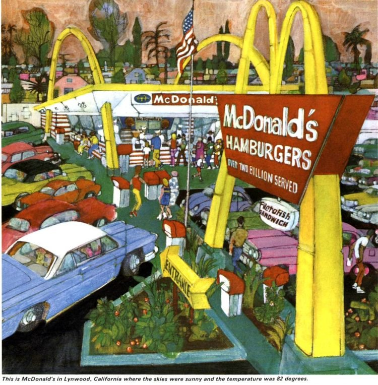 Vintage McDonald's resturants in the 1960s (5)