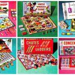 Vintage Milton Bradley board games for family fun (1950s & 1960s)