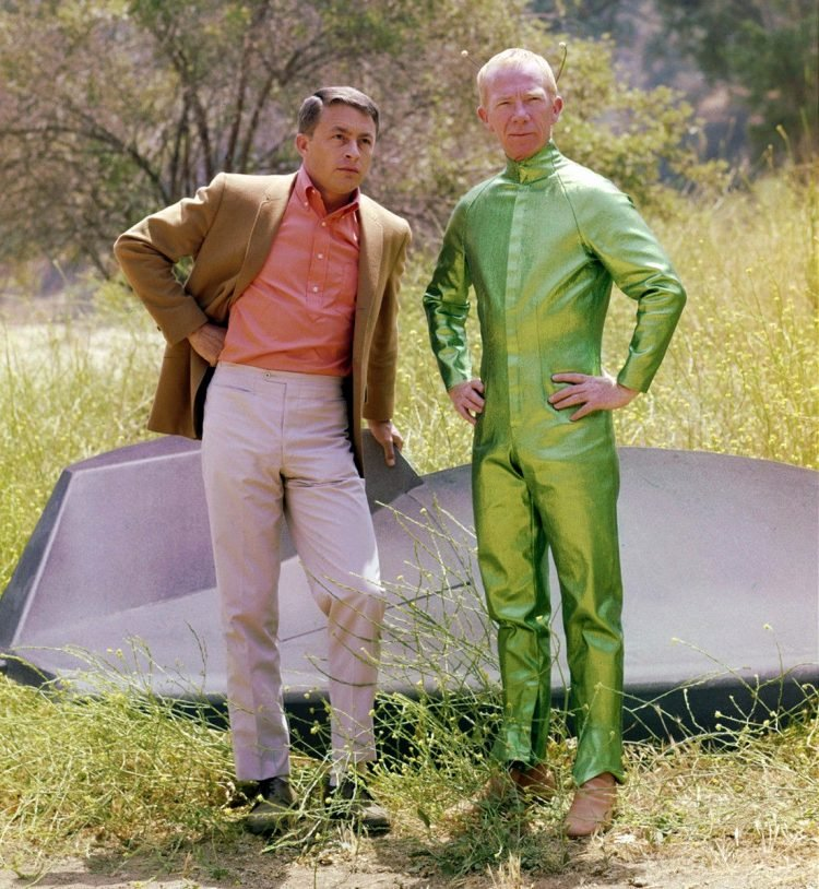Vintage My Favorite Martian TV show with Bill Bixby and Ray Walston