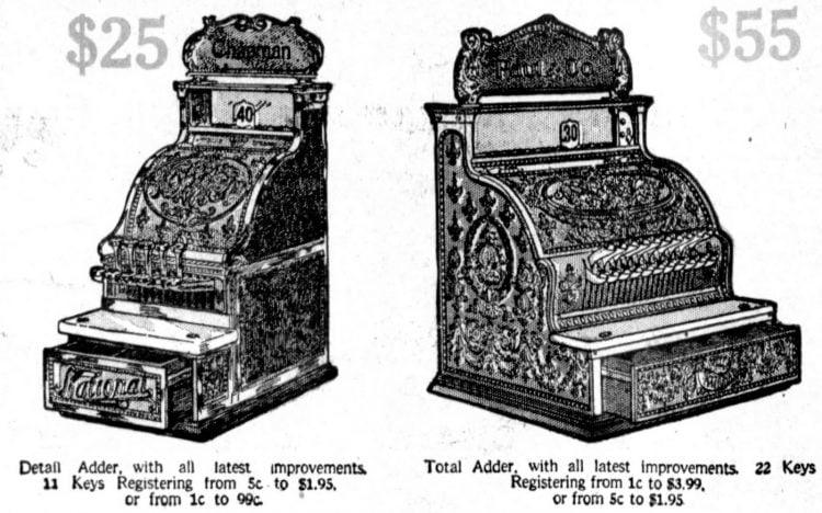 Vintage NCR cash registers from 1910 (1)