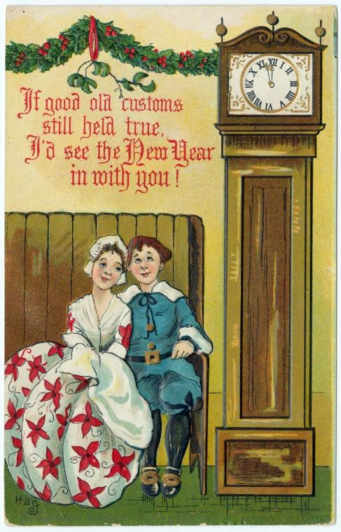 Vintage New Year's cards from Click Americana (14)