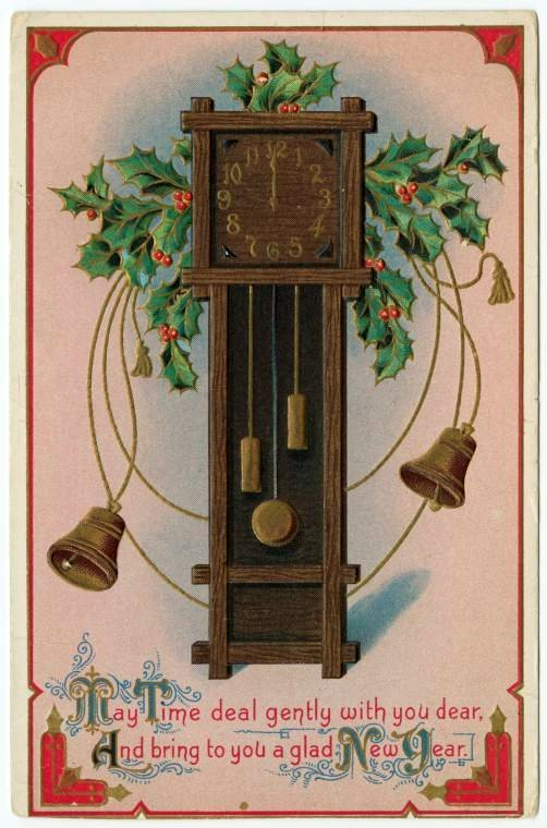 Vintage New Year's cards from Click Americana (6)