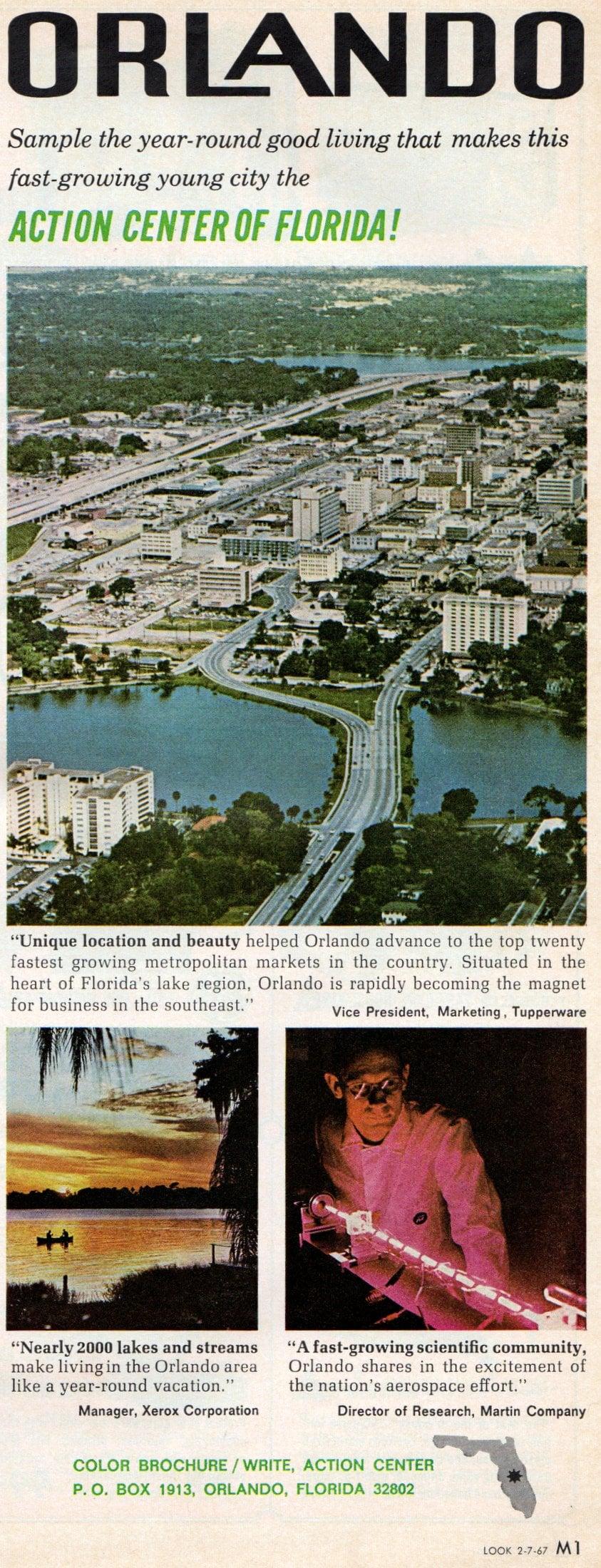 Vintage Orlando Florida (1967)