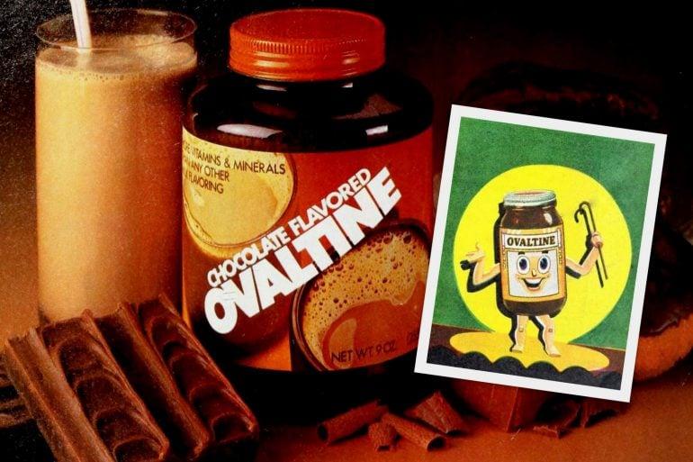 Vintage Ovaltine - 1940s and 1980s