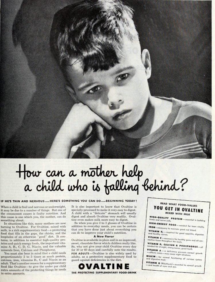 Vintage Ovaltine for kids (1940s) (1)