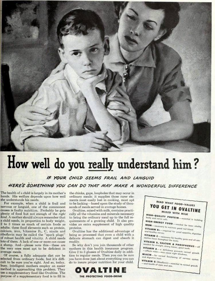 Vintage Ovaltine for kids (1940s) (2)