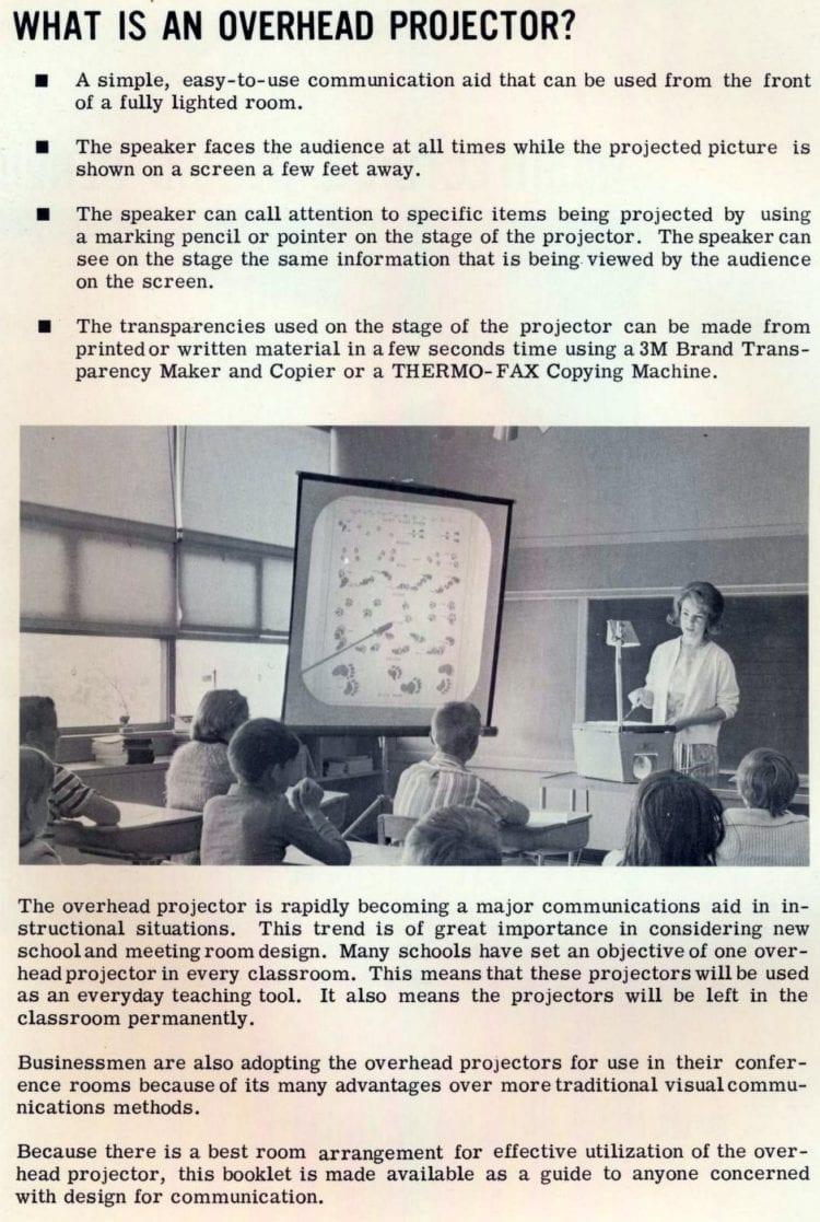Vintage Ozalid Projecto-Lite Overhead Projectors (2)