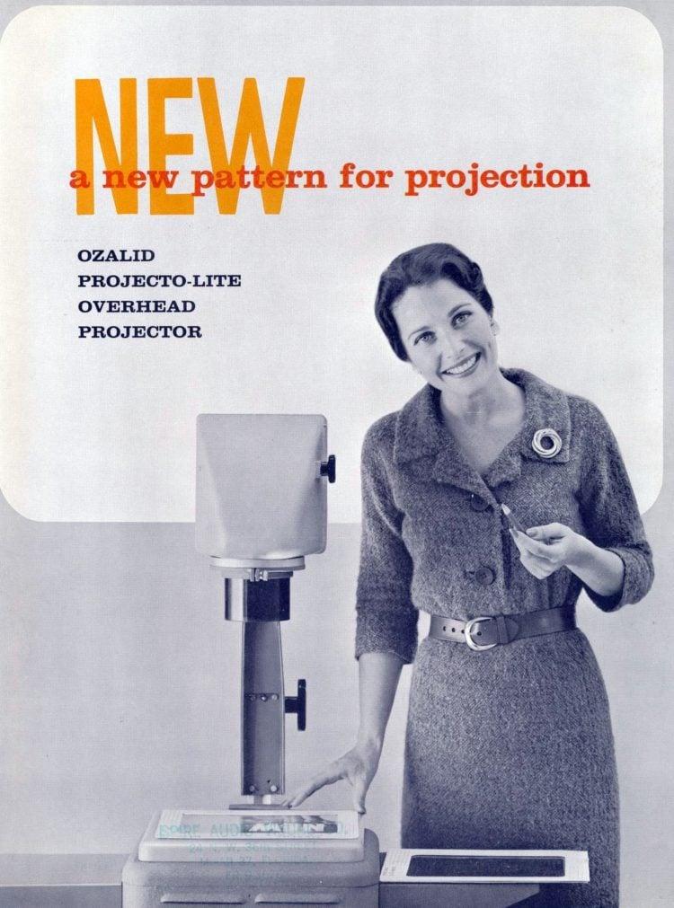 vintage overhead projector