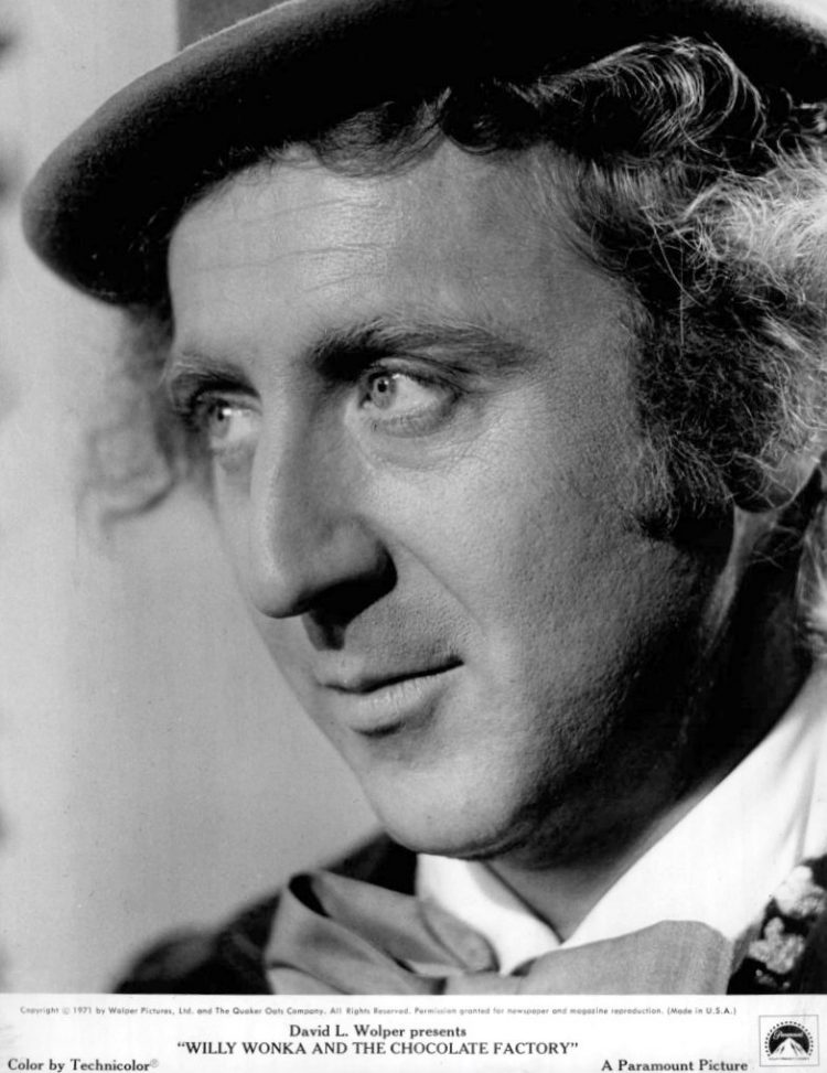 Vintage PR photo of Gene Wilder from Willy Wonka & the Chocolate Factory