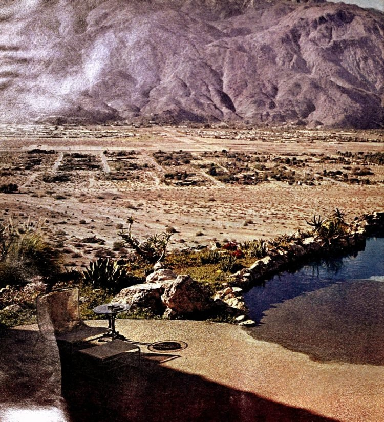 Vintage Palm Springs swimming pools desert swimming pools 1960s (1)