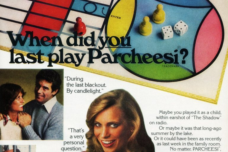 Vintage Parcheesi board games have been around for more than 140 years