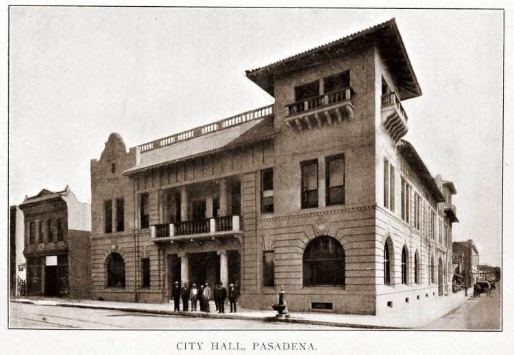 Vintage Pasadena - City Hall