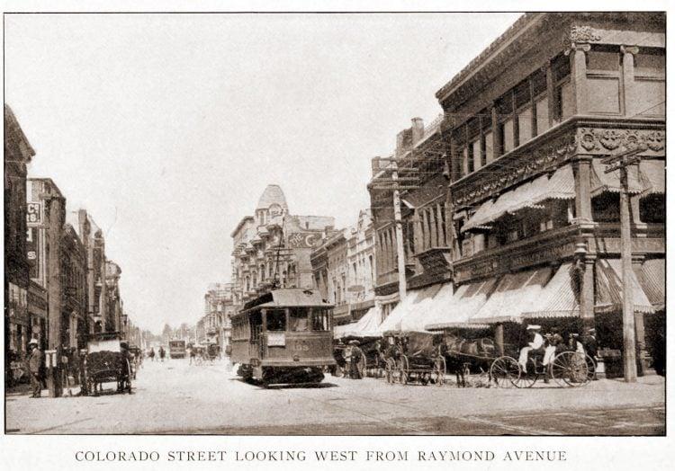 Vintage Pasadena - Colorado Street
