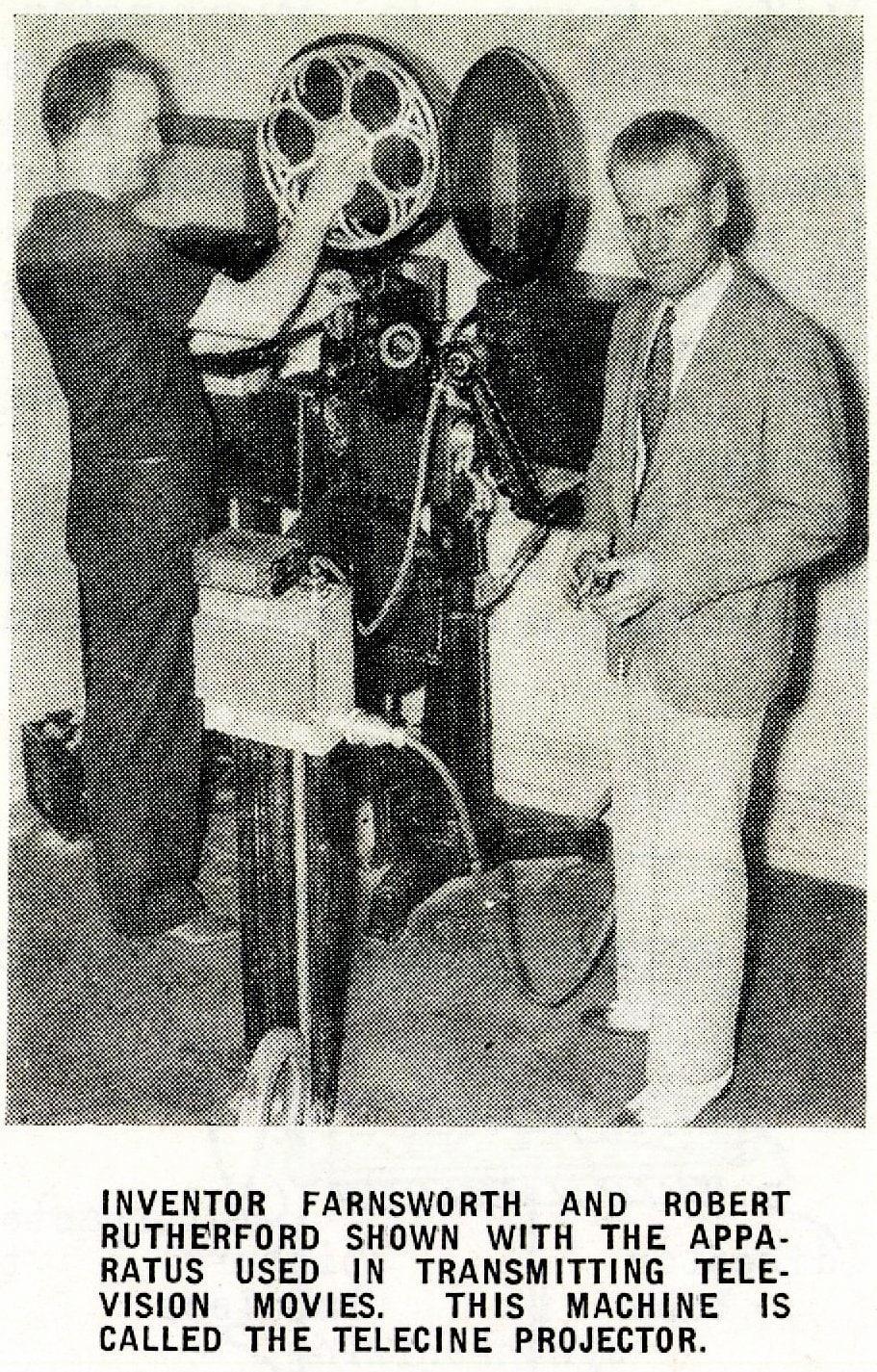 Vintage Philo Farnsworth - TV inventor