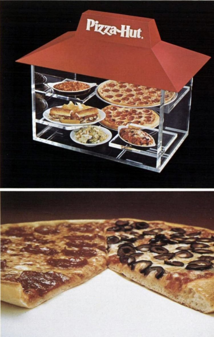 Look Back At These Vintage Pizza Hut Restaurants Foods From The 70s Click Americana