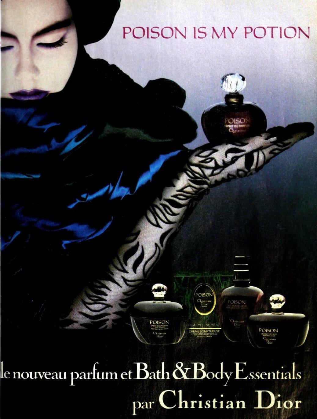 Vintage Poison perfume - 1987