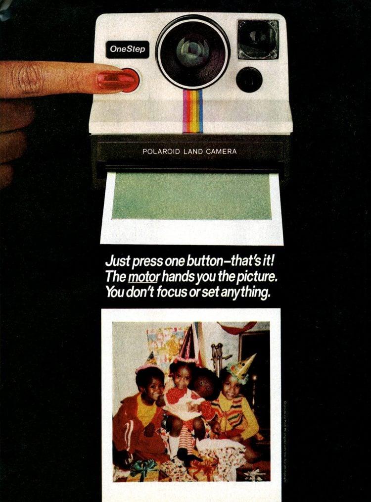 Vintage Polaroid's OneStep camera (1977)