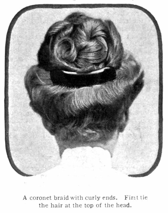 Vintage Pompadour and vintage hairstyles - 1905 (1)