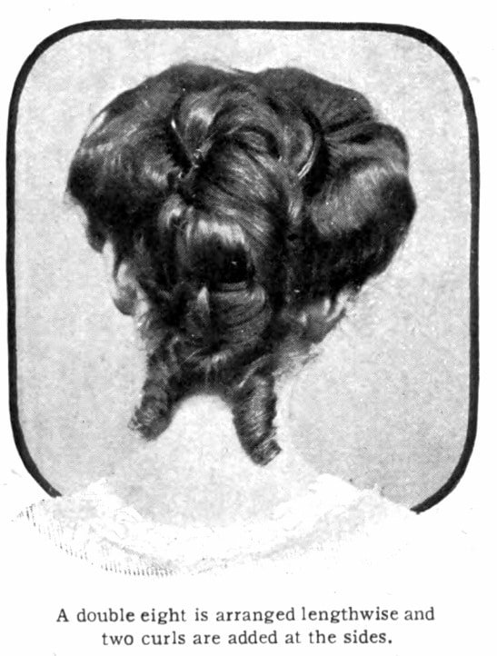 Vintage Pompadour and vintage hairstyles - 1905 (2)