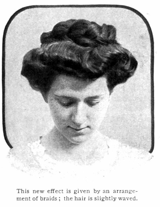 Vintage Pompadour and vintage hairstyles - 1905 (3)