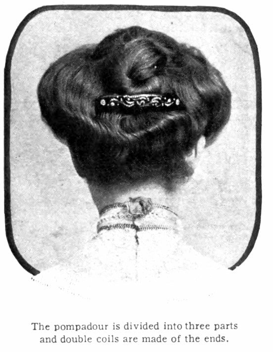 Vintage Pompadour and vintage hairstyles - 1905 (4)