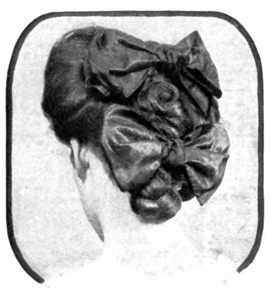 Vintage Pompadour and vintage hairstyles - 1905 (5)