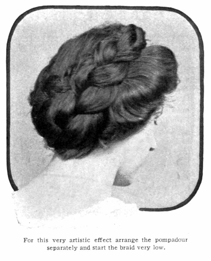 Vintage Pompadour and vintage hairstyles - 1905 (6)