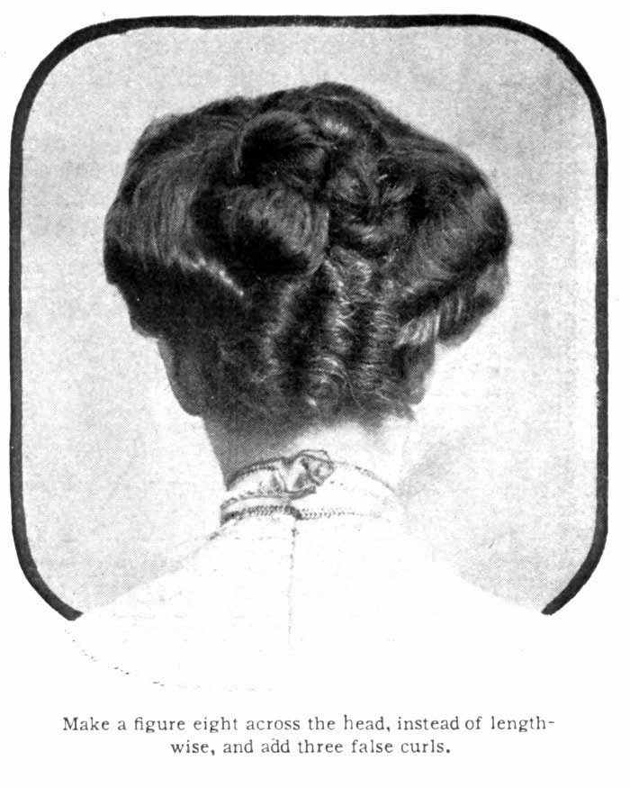 Vintage Pompadour and vintage hairstyles - 1905 (7)