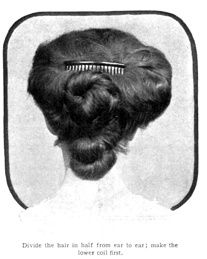 Vintage Pompadour and vintage hairstyles - 1905 (8)