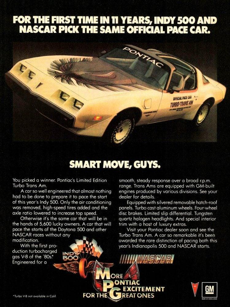 Vintage Pontiac Limited Edition Turbo Trans Am
