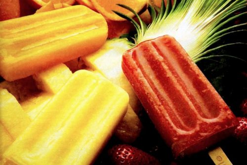 Vintage Popsicles, frozen treats and ice pops