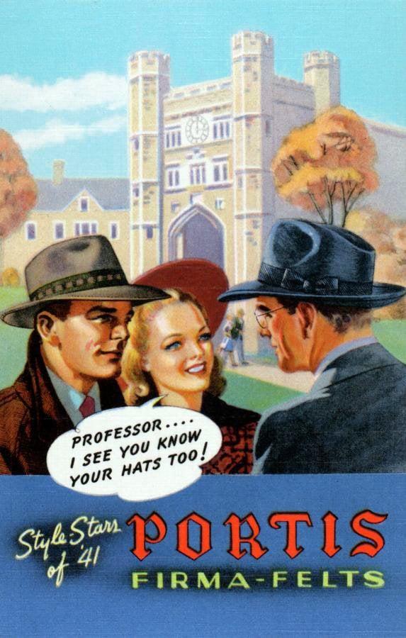 Portis Firma Felts - Style stars of '41
