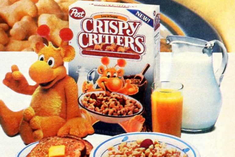 Vintage Post Crispy Critters cereal from the 80s (1)
