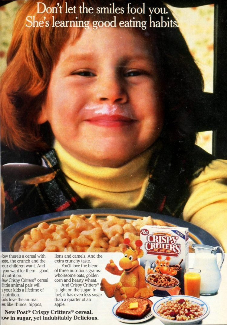 Vintage Post Crispy Critters cereal from the 80s (2)