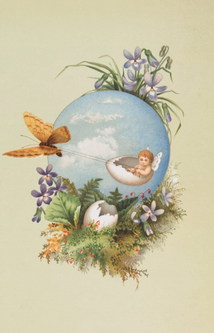 Vintage Prang Easter cards