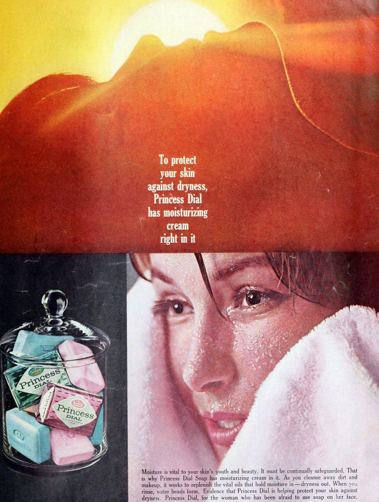 Vintage Princess Dial bar soap for women (1963)