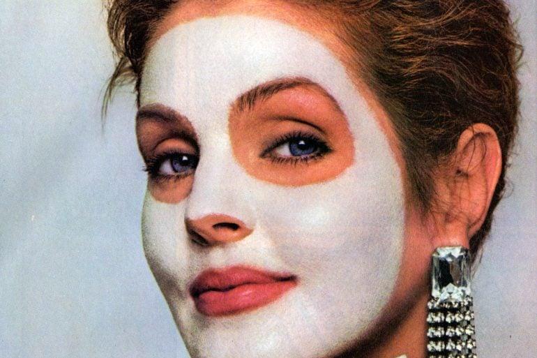 Vintage Priscilla Presley for Mudd Mask (1987)