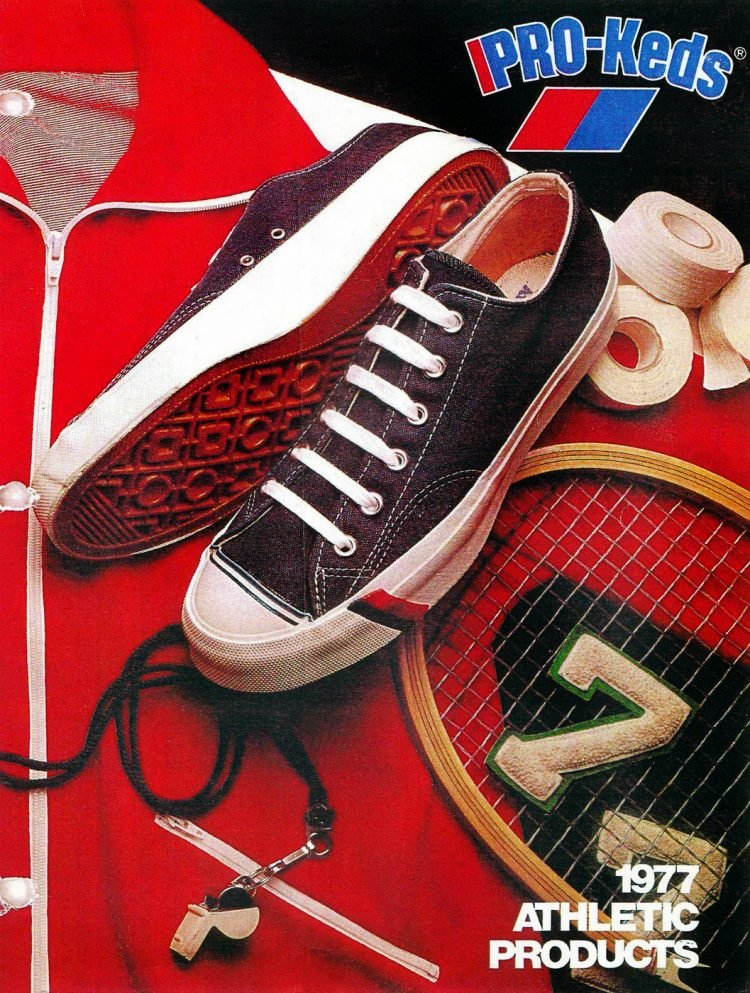 Vintage Pro-Keds - 1977 athletic products