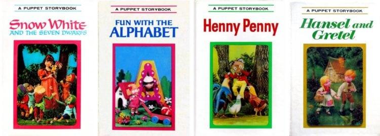 Vintage preschool favorites: Puppet Storybooks with 3D lenticular