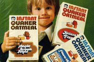 Vintage Quaker Instant Oatmeal