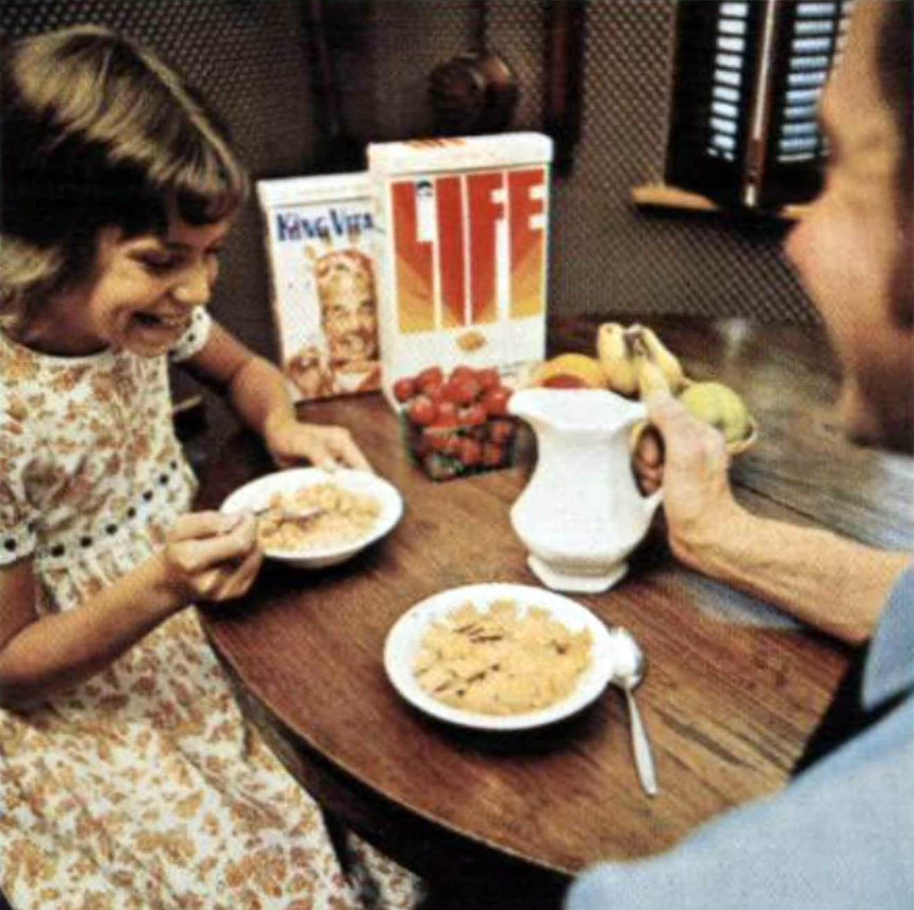 Vintage Quaker Life cereal and King Vitaman (1972)