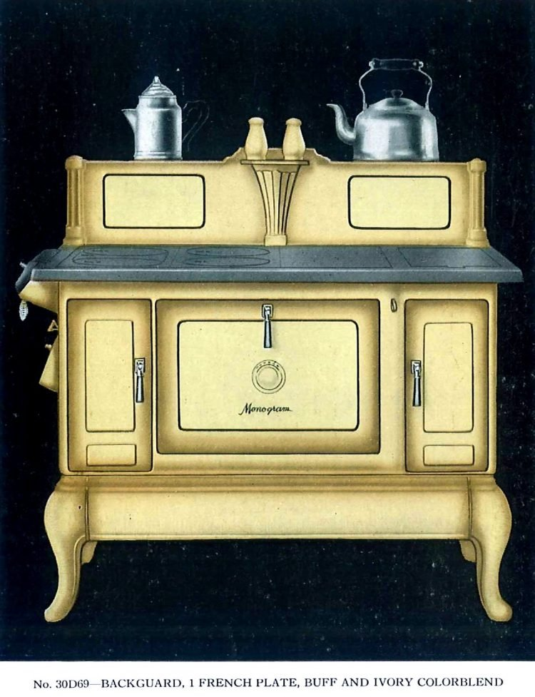 Vintage Quincy Stove Monogram ranges from 1934 (1)