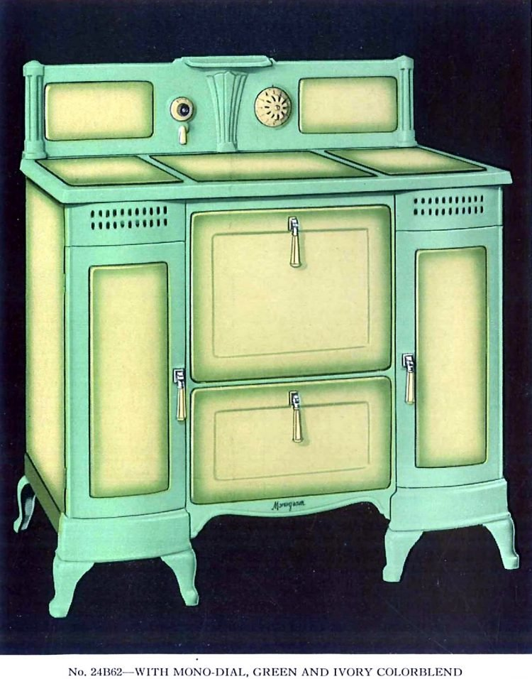 Vintage Quincy Stove Monogram ranges from 1934 (2)