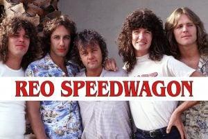 Vintage REO Speedwagon band