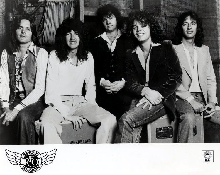 Vintage REO Speedwagon band promo photo - Epic